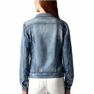 70d5f3e1672e Buffalo Jackets   Coats - Buffalo Ladies  Knit Denim Jacket Blue medium wash